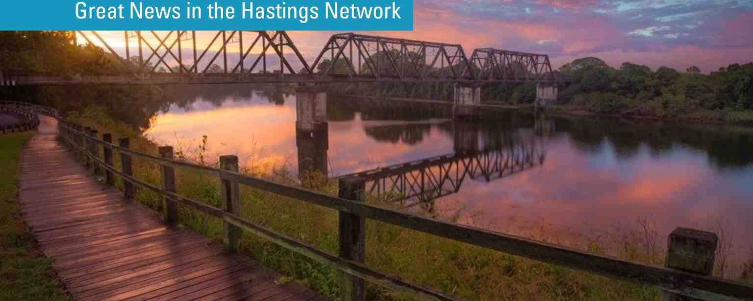 Great News in the Hastings Network
