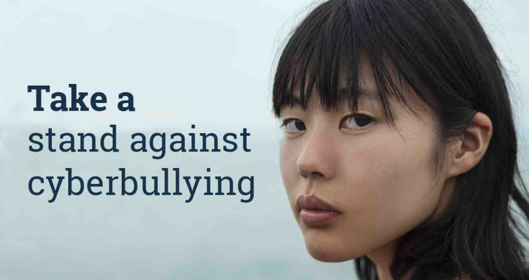 Take a stand against cyberbullying