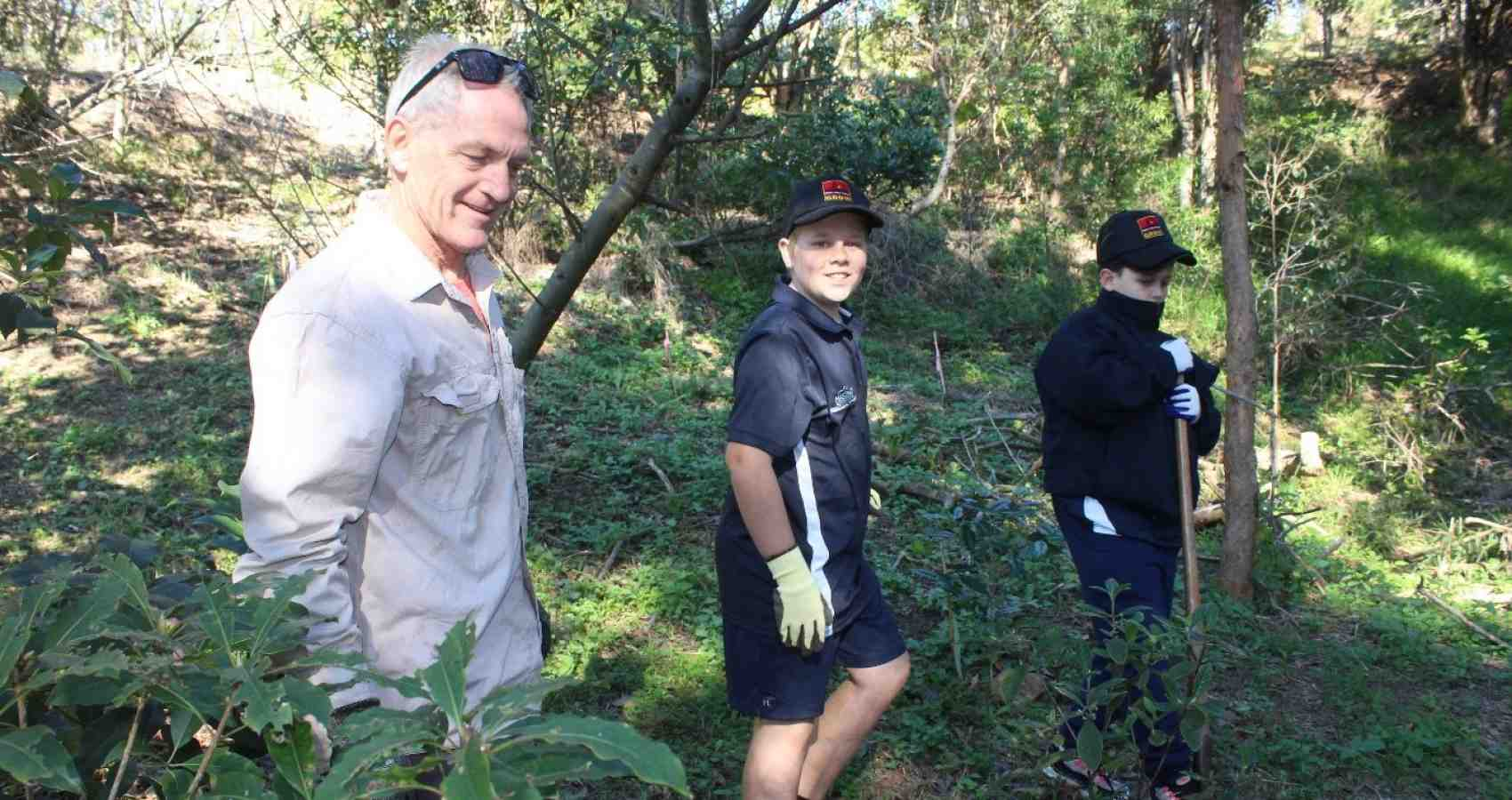 Clontarf - Tree Planting Day
