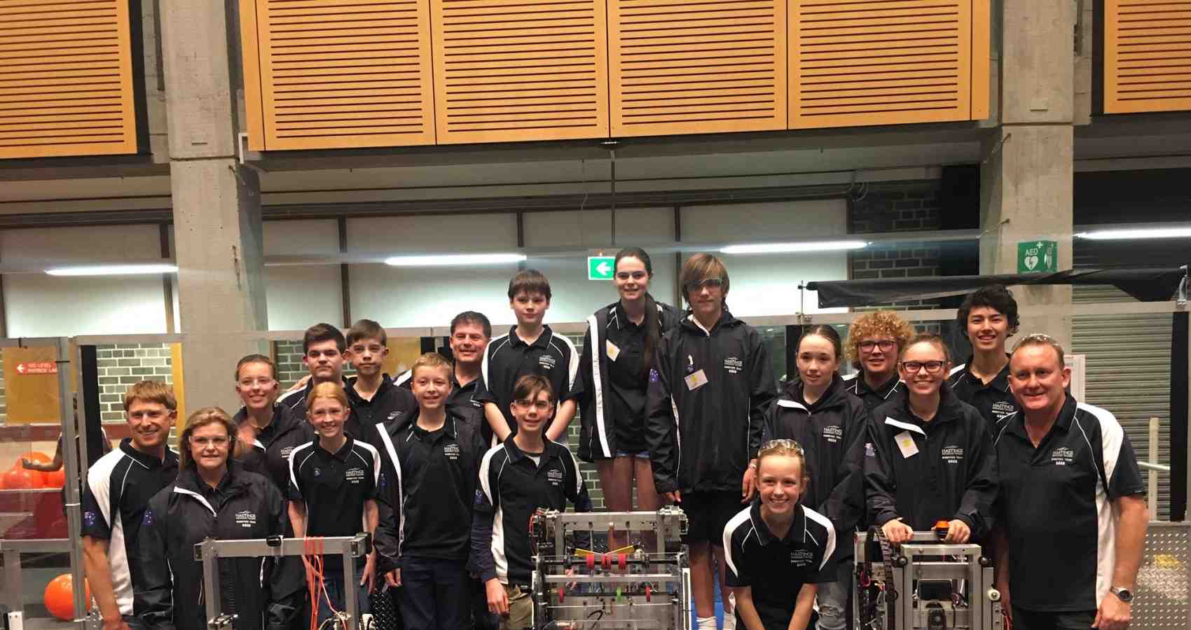 Hastings Secondary College Robotics Team