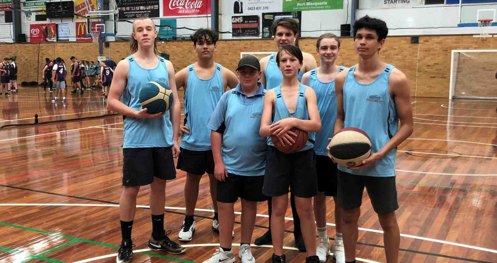 Under 15s Team Basketball
