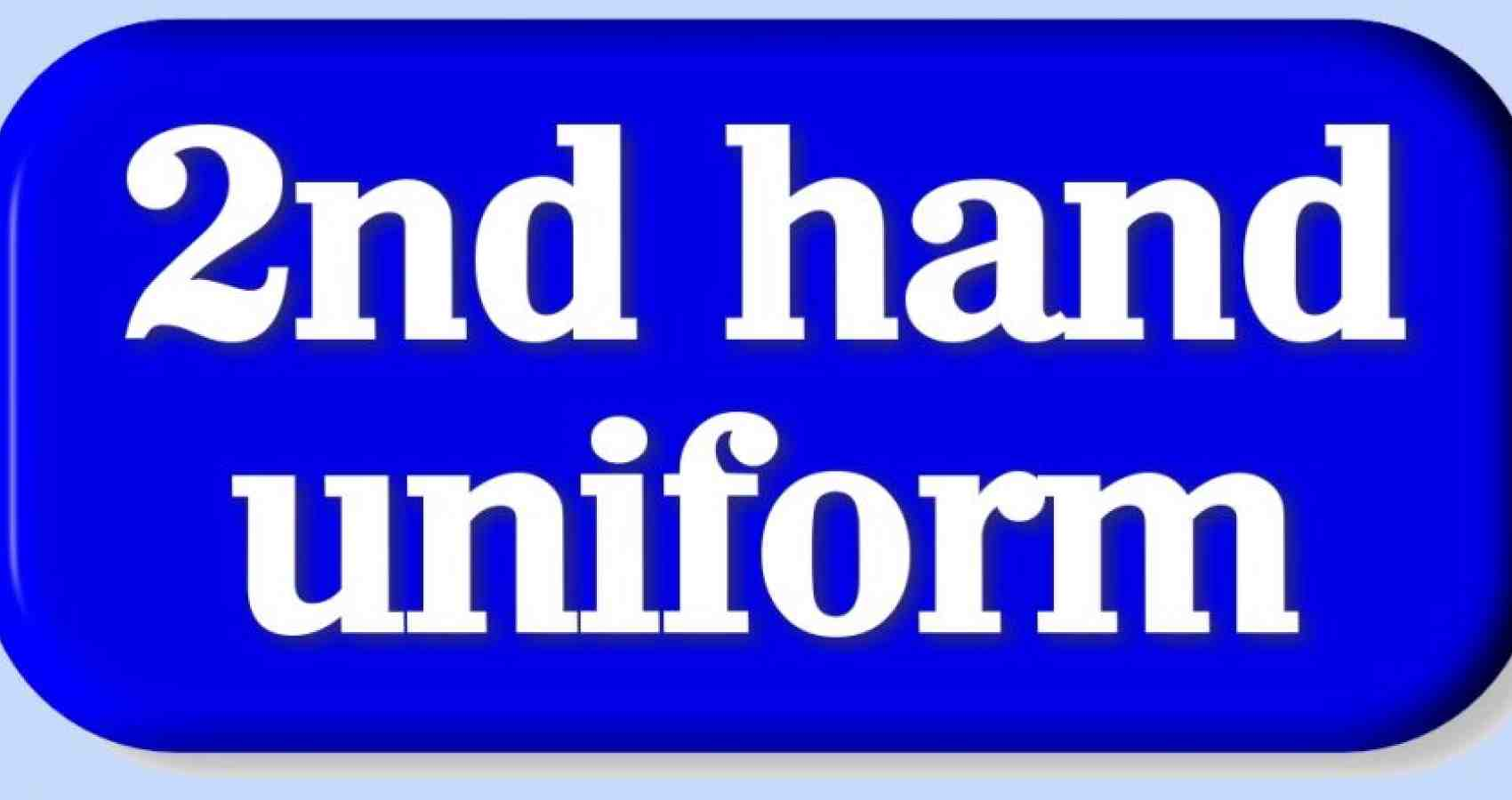 second hand uniform