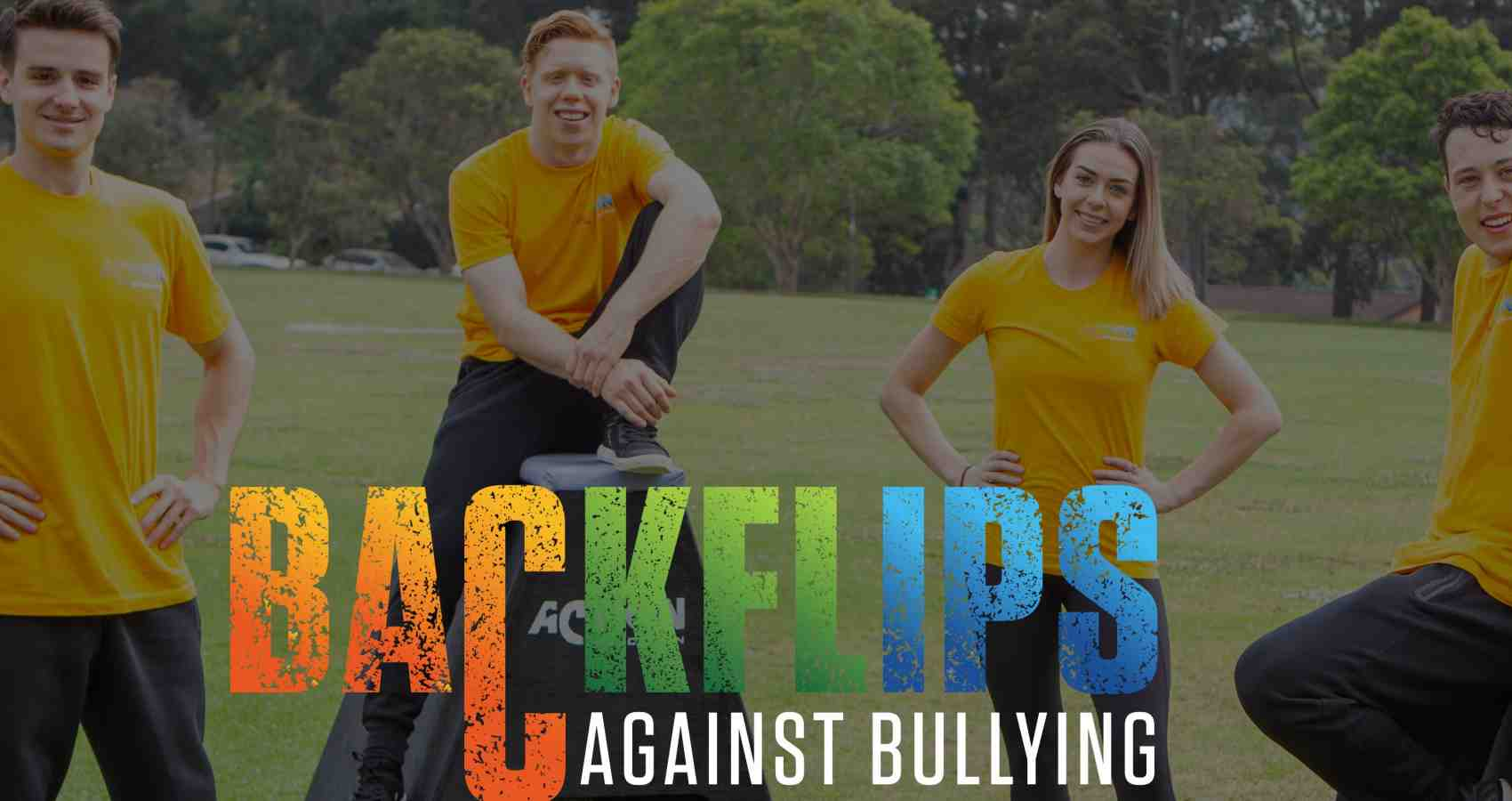 Backflips Against Bullying