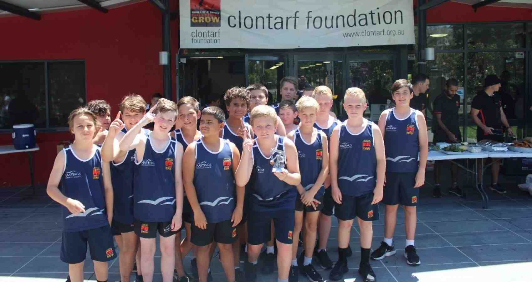 Clontarf Year 7 Induction Camp